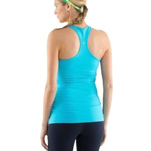 Lululemon Cool Racerback (First Release) Spry Blue